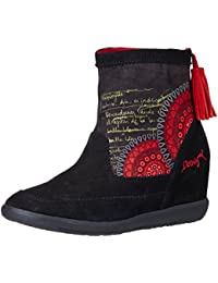Desigual Women's Indy 6 Ketchup Boots