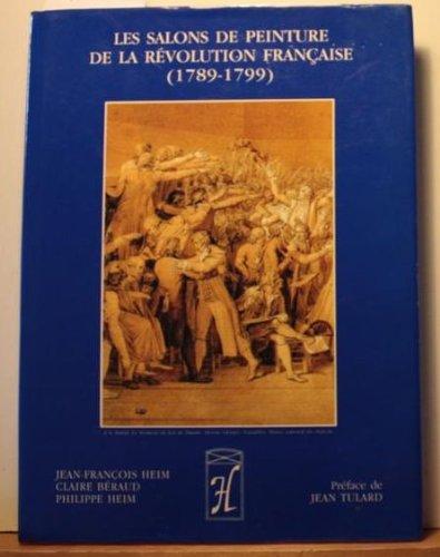 Les salons de peinture de la Révolution française : 1789-1799