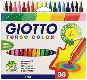 LYRA - Juego de rotuladores (Giotto 0716 00) (Colores Surtidos)