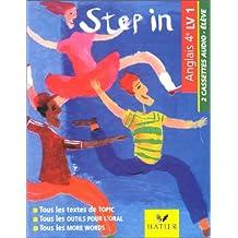 New Step In : Anglais, livre de l'élève, 4e (cassette audio)