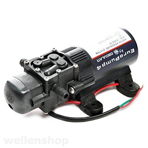 wellenshop 12V automatische Druckwasserpumpe 3l/min