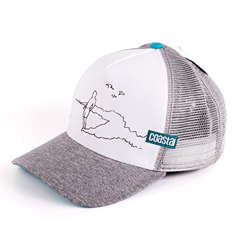 Cap Coastal Rider Farbe: white/grey
