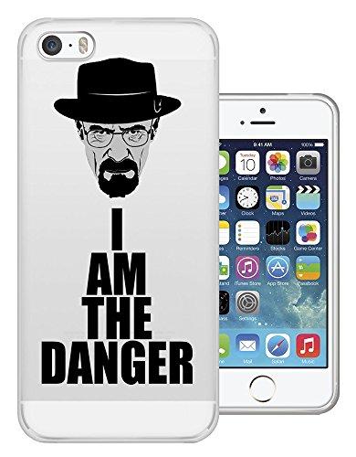 Preisvergleich Produktbild C0446 - Cool Fun Trendy Funny I Am The Danger Breaking Bad Design iphone 6 6S 4.7'' Fashion Trend Silikon Hülle Schutzhülle Schutzcase Gel Rubber Silicone Hülle
