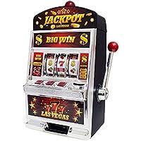 Preisvergleich für balviSpielLasVegasEinarmigerBanditDoppelfunktion:GlücksspielundPiggyBankBatterien:2xAANichtimLieferumfangenthaltenPlastik37cm