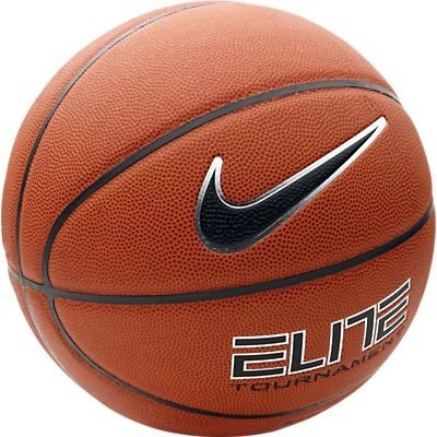 NIKE Basketball Elite Tournament 8 Panel, Amber/(Black-Platinum), 7, BB0401-801 (Basketball-zubehör Nike)