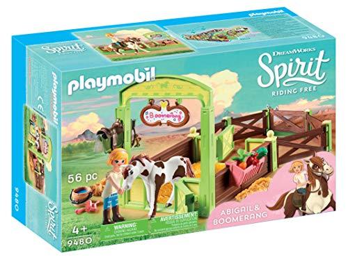 Playmobil 9480 Spielzeug-Pferdebox Abigail & Boomerang