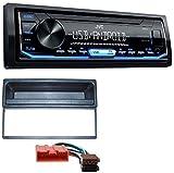 caraudio24 JVC KD-X151 1DIN USB Aux MP3 Autoradio für Mazda Premacy 323 MX5 (ab 2000)