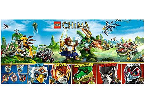 LEGO Legends of Chima - Limitiertes Poster von 2013 (5002446)