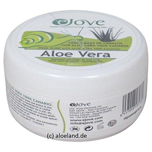 eJove Crema para Cuerpo y Manos Aloe-Caracol, 200 ml - von Gran Canaria