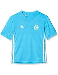 417d76b4af adidas Olympique Marseille 2017-2018 a JSY Y, Maglietta Bambino, Blu (Omazul
