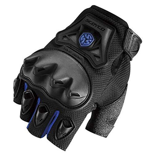 Half Finger Gloves Outdoor Sports Mountainbike Schutz Motorrad Handschuhe mit Hard Knuckle