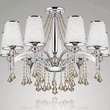 Kristall Neun Licht (Bang Kristall-Kronleuchter Wohnzimmer Licht Tuchkunst Leuchter 9 Leuchten)