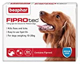 Best Dog Fleas - Beaphar FIPROtec for Medium Dogs, 6 pipettes Review