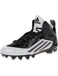 Adidas Performance Crazyquick 2.0 Mediados de fútbol de la grapa, Negro / titanio, 6,5 M con nosotr