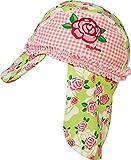 Playshoes Mädchen Mütze Badekappe, Bademütze Rosen UV - Schutz nach Standard 801, Gr. Small (Herstellergröße: 49cm), Mehrfarbig (original 900)