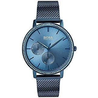 Hugo Boss Reloj para Mujer de Cuarzo con Correa en Acero Inoxidable 1502518