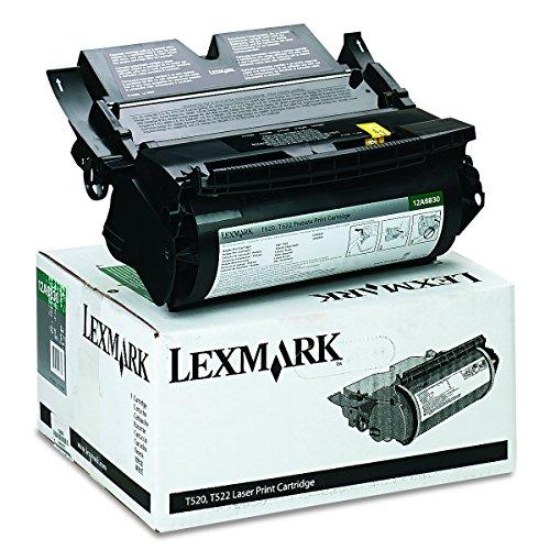 Preisvergleich Produktbild Lexmark 12A6830 T520, T522 Tonerkartusche, 7.500 Seiten Rückgabe, schwarz