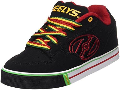 Heelys Motion Plus, Chaussures de Tennis Garçon Noir (Black / Reggae)