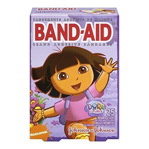 band-aid-brand-adhesive-bandages-dora-the-explorer-decorated-bandages-25-count-pack-of-3-by-band-aid