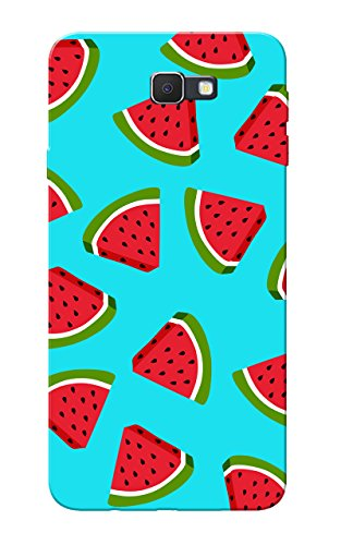 Galaxy J7 Prime Case, Watermelon Blue Slim Fit Hard Case Cover/Back Cover for Samsung Galaxy J7 Prime  available at amazon for Rs.99
