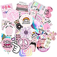 OfferDeal 53PCS/lot Cartoon Pink INS Style Vsco Girl Stickers For Laptop Moto Skateboard Luggage Refrigerator