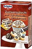 Dr. Oetker Zuckerschrift mit Schokoladengeschmack, 4er Pack (4 x 75 g)