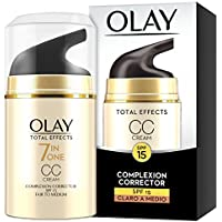 Olay Total Effects 7 en 1 CC Cream Anti-Edad Correctora de Tono Claro A Medio SPF15-50ml