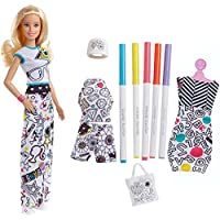 Barbie FPH90 Colour-In Fashion