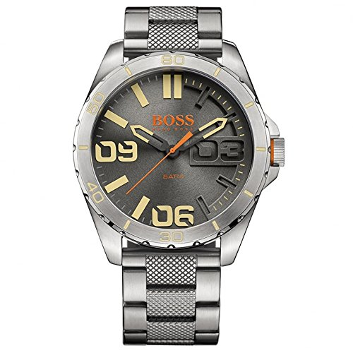Hugo Boss Orange 1513317 Silver Stainless Steel Men's Watch Steel