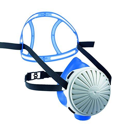 Dräger X-plore 2100 Set - Mehrweg-Atemschutzmaske aus Silikon + 5X FM P3 Filter | Größe M/L | Für giftige Stäube/Rauch/Krankheitserreger/Aerosole