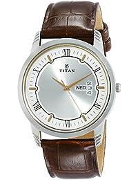 Titan Karishma Analog Silver Dial Men's Watch-1774SL01
