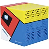 'DOOGEE Cube P1Mini DLP LED HD Smart Vidéoprojecteur 70lumens Android 4.4Amlogic Quad Core 1Go RAM + ROM 8Go OTA OTG WIFI HDMI Home Cinéma Projecteur soutien Miracast DLNA Airplay