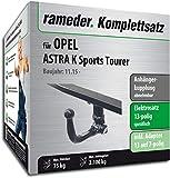 Rameder Komplettsatz, Anhängerkupplung abnehmbar + 13pol Elektrik für OPEL Astra K Sports Tourer (143078-14870-1)