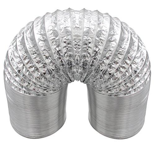 VIVOSUN non-insulated Flex Air Duct alluminio per ventilazione