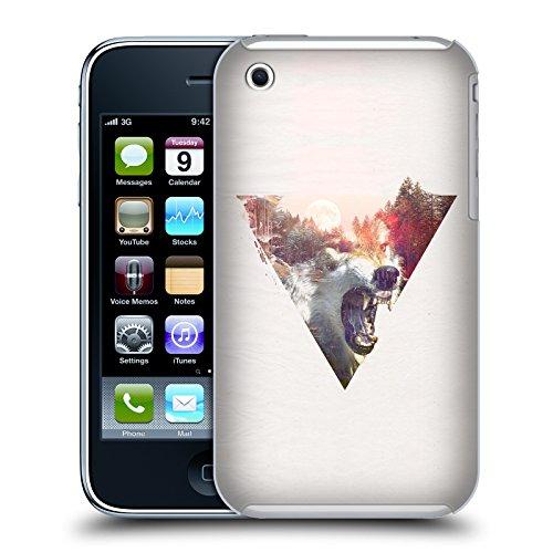 Offizielle Robert Farkas Alleine Wie Ein Wolf Tiere Ruckseite Hülle für Apple iPhone 7 Tageslicht