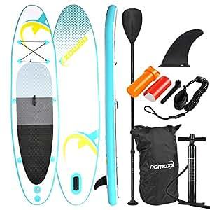 49042fbecf70ef Nemaxx Stand up Paddle Board 126  x 30.7  x 5.9  (320x78x15 cm ...