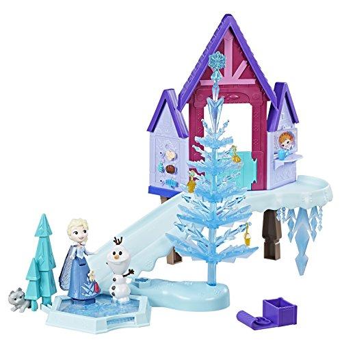 Hasbro Disney Die Eiskönigin C1919EU4 - Olaf taut auf Little Kingdom Winterlandschaft, ()