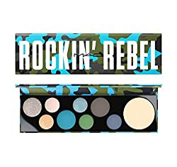 Mac Rockin Rebel Palette Eyeshadow And Highlighter Palette