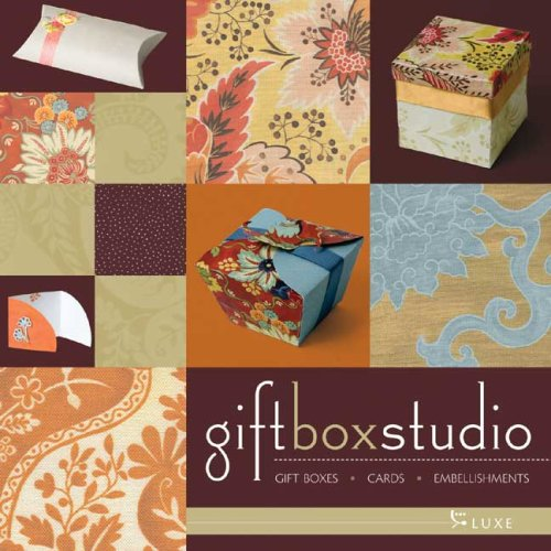 Gift Box Studio: Luxe: Gift Boxes, Cards, Embellishments (Box Card Library)