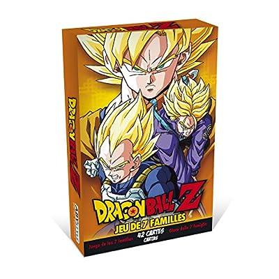 ABYstyle - Dragon Ball - Jeu de Cartes - 7 familles DBZ