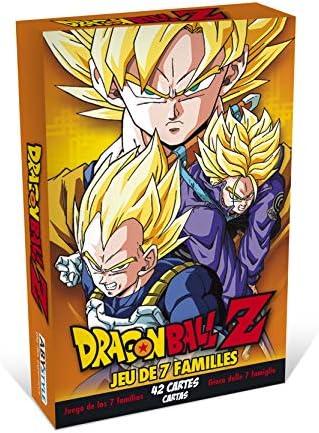 ABYstyle - Dragon Ball - Jeu de Cartes Cartes Cartes - 7 familles DBZ | Merveilleux  3ade69