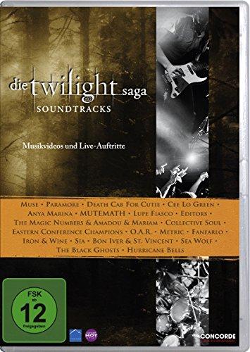 Die Twilight Saga: Soundtracks, Musikvideos und Live-Auftritte