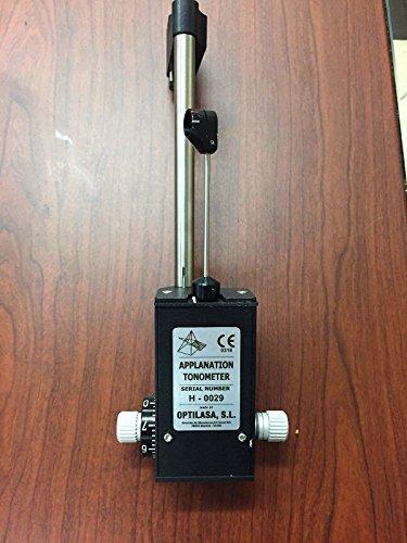 Tonómetro de aplanación para optomología de lámpara de hendidura