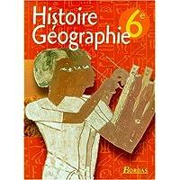 Histoire-géographie, 6e. Livre de l'élève