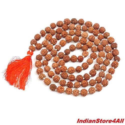 IndianStore4All 108 Buddhist Mala Beads - Meditation Prayer Necklace