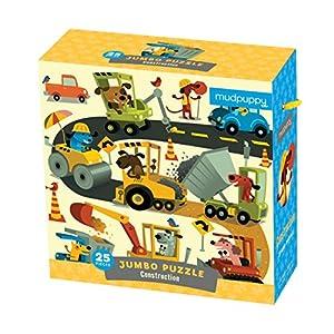 Mudpuppy - Puzzle Jumbo, diseño construcción (MPJP33055)