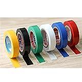 6 x PVC Auto-Saldatura Nastro Isolante, Multicolore (Fantasia), Fascia 16 mm di larghezza