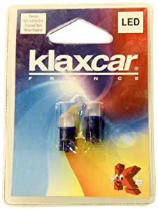 KLAXCAR France 87017X 2X Led Wb T10 24V 20Ma Frosted Bleu