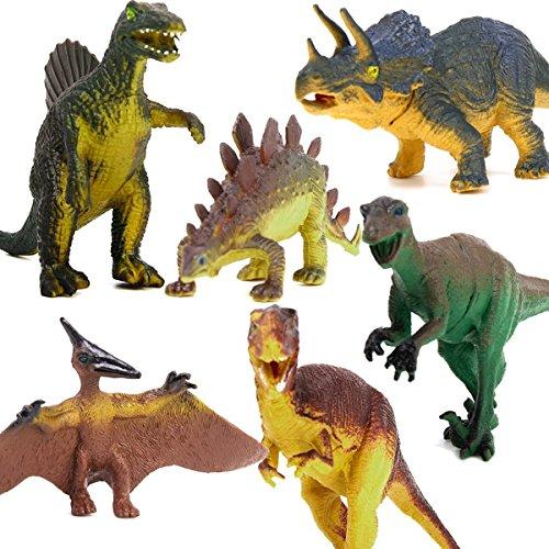 LEORX 6ST Dinosaurier Spielzeug pädagogisches Spielzeug für - Kinder Für Dinosaurier-spielzeug