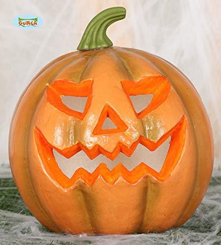 (Guirca Kürbis mit Licht 24cm - Halloween, Calabazas)